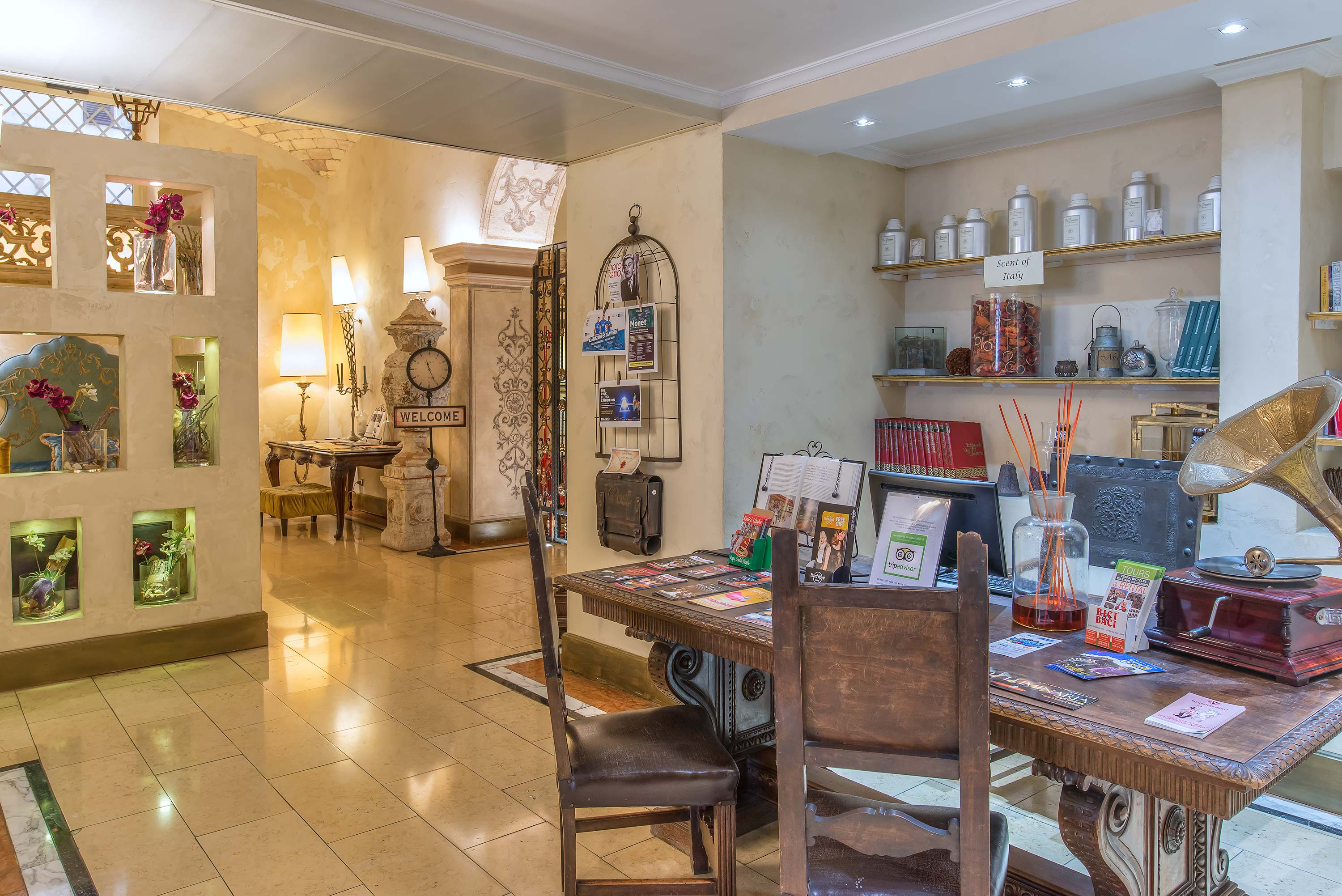 Hotels in Italy: 4* Hotel in Rome's center│Hotel Veneto Palace